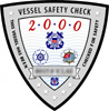 Vessel Safety Check decal for 2000